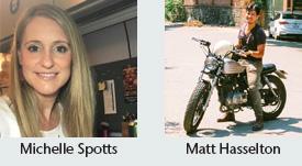 Michelle Spotts and Matt Hasselton
